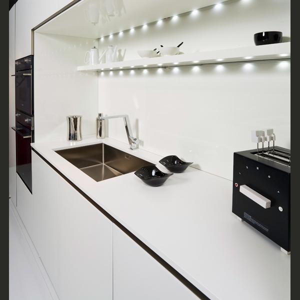 Belenco Angel White Mutfak Tezgahı Modelleri