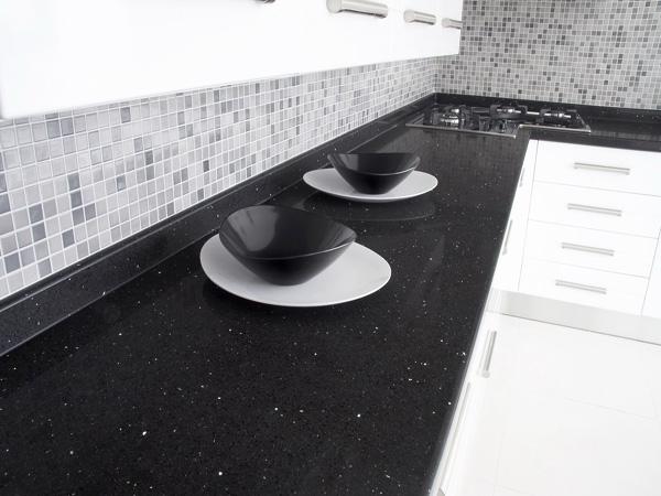 Belenco Gala Black Mutfak Tezgahı Modelleri