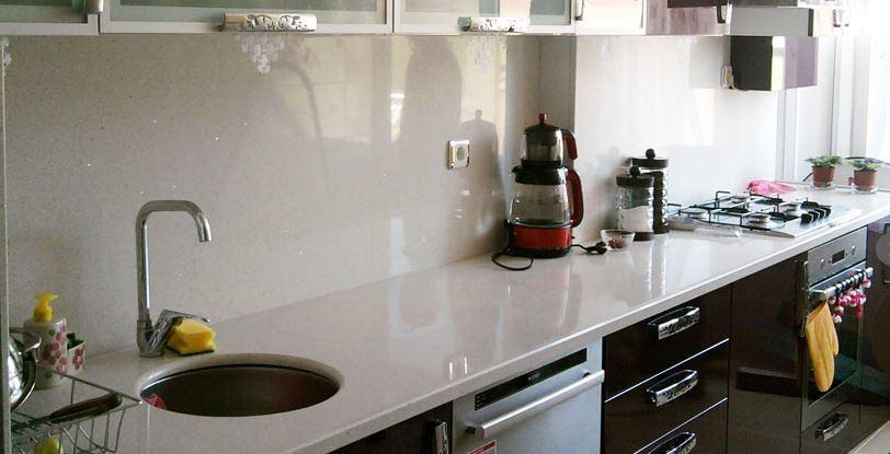 Belenco Elixir White Mutfak Tezgahı Modelleri