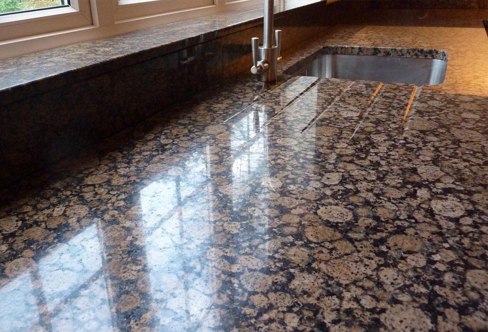Baltic brown granit mutfak tezgahı Modelleri