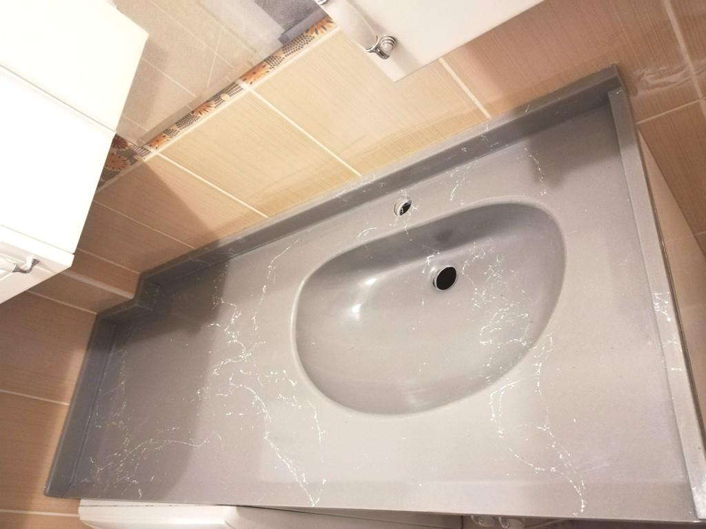 Mermerit Banyo Tezgahı Modelleri